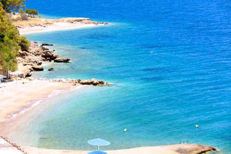 Beautiful sea coast in Greece Stock Photo - 7469789