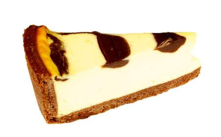 Cheesecake isolated on white background Stock Photo - 7748071