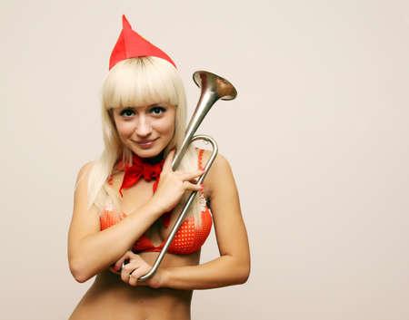 pioneer: sexy blond pioneer