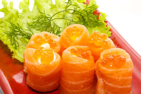 japanese meal: japan trditional food isolated Stock Photo