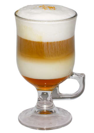 musetti: Coffee cocktail cup Stock Photo