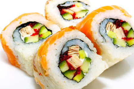 japan trditional food isolated Stock Photo