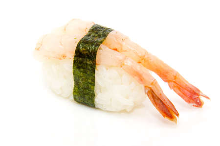 japan traditional food - sushi isolated Stock Photo - 8462634