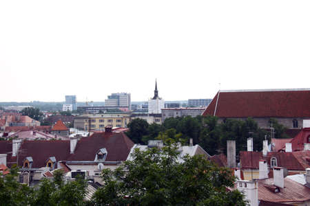 View on old city of Tallinn, Estonia EU Stock Photo - 8632312