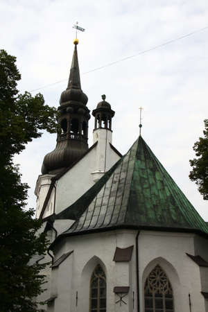 The Cathedral of Saint Mary the Virgin (Toomkirik) in old Tallinn. Estonia. Stock Photo - 8632998