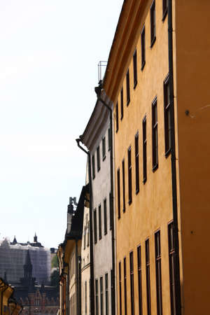 Stockholm, the Old Town city view photo