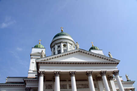 Tuomiokirkko cathedral Helsinki. Finland EU photo