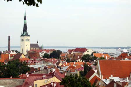 View on old city of Tallinn, Estonia EU Stock Photo - 8636699