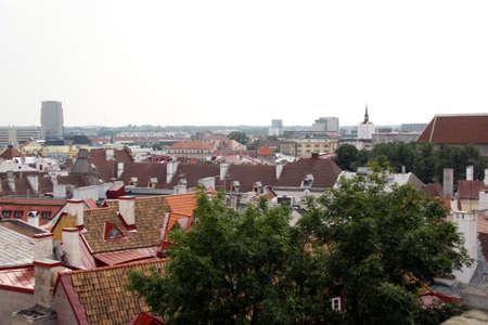 View on old city of Tallinn, Estonia EU Stock Photo - 8636649
