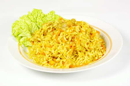uzbek: Uzbek national dish Stock Photo