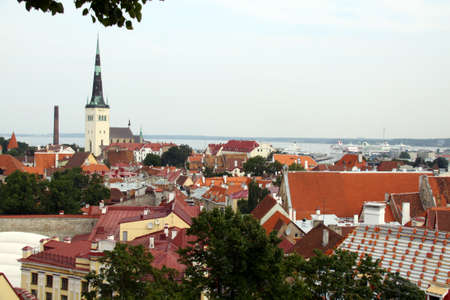 View on old city of Tallinn, Estonia EU Stock Photo - 9447126