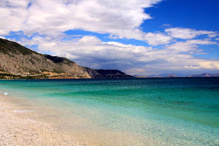 seafronts: beautiful Greek landscape