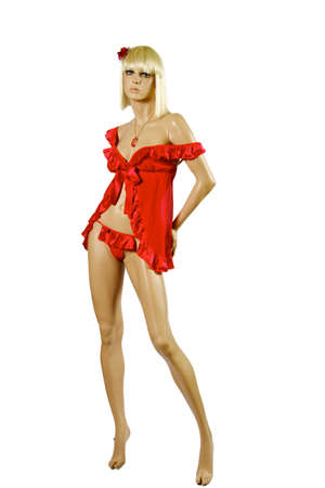 vrouw ondergoed: sexy vrouw ondergoed op een witte achtergrond Stockfoto