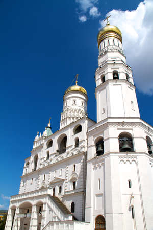 Ivan the Great bell tower, Moscow Kremlin, Russia photo