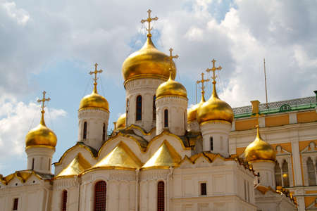 The Cathedral of the Annunciation in Kremlin, Moscow, Russia Stock Photo - 10298128