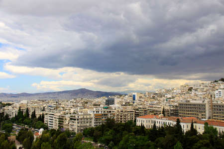view Athens is a capital of Greece photo