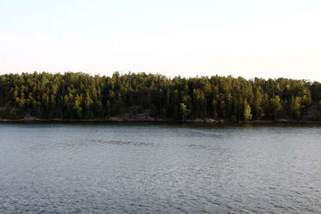 Lonely island in Sweden, Stockholm Archipelago photo