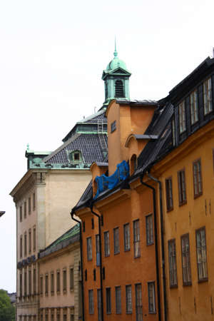 Stockholm, the Old Town city view