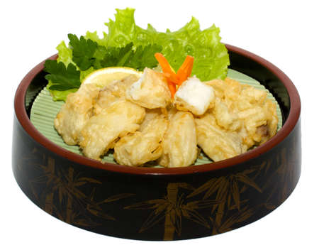 japan trditional hot food isolated photo