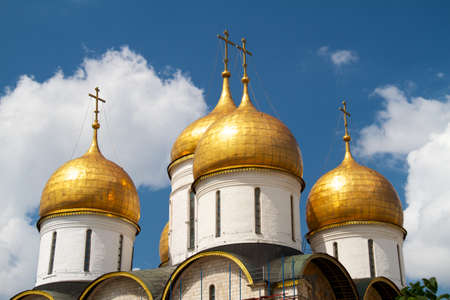 Dormition Cathedral in Moscow Kremlin photo