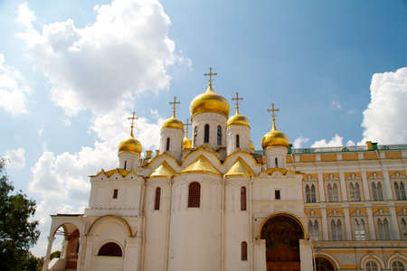 The Cathedral of the Annunciation in Kremlin, Moscow, Russia Stock Photo - 10681903