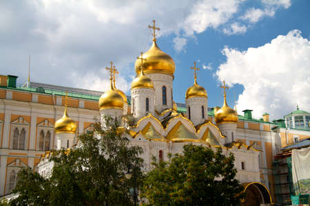 The Cathedral of the Annunciation in Kremlin, Moscow, Russia Stock Photo - 10681845