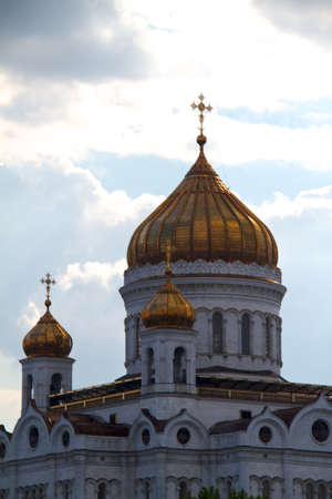 The Cathedral of Christ the Savior, Moscow 2011, Russia photo