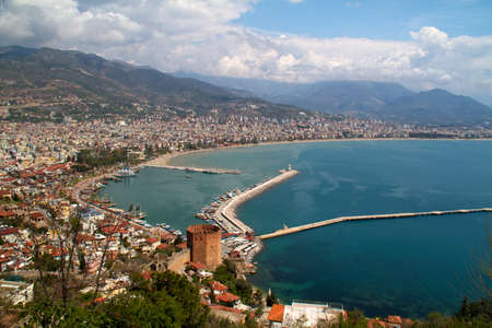 seljuk: Kizil Kule (Red Tower), inTurkish city of Alanya