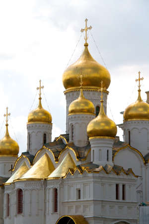 The Cathedral of the Annunciation in Kremlin, Moscow, Russia Stock Photo - 10733733