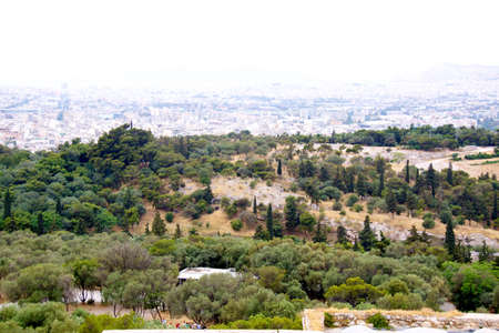 View of Athens photo
