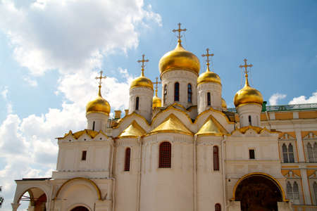The Cathedral of the Annunciation in Kremlin, Moscow, Russia Stock Photo - 10988356