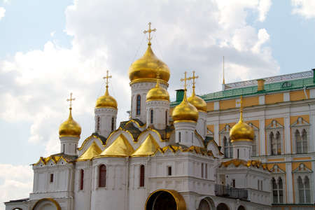 The Cathedral of the Annunciation in Kremlin, Moscow, Russia Stock Photo - 11089635
