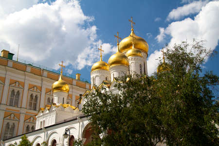 The Cathedral of the Annunciation in Kremlin, Moscow, Russia Stock Photo - 11089812