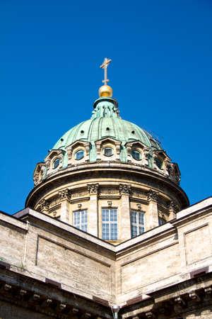 sobor: Kazan Cathedral or Kazanskiy Kafedralniy Sobor in Saint Petersburg