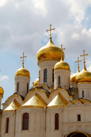 The Cathedral of the Annunciation in Kremlin, Moscow, Russia Stock Photo - 11343267