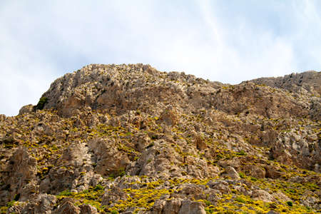 High mountain and Rocks in Greece Rhodes Stock Photo - 11399938
