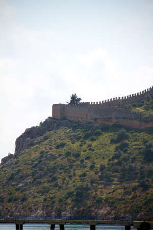 turkiye: alanya castle view