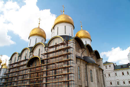 Dormition Cathedral in Moscow Kremlin Stock Photo - 11400903
