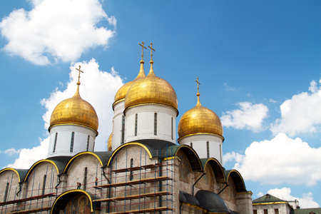 Dormition Cathedral in Moscow Kremlin Stock Photo - 11400808
