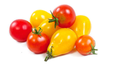 yellow and red tomatoes Stock Photo - 11369833