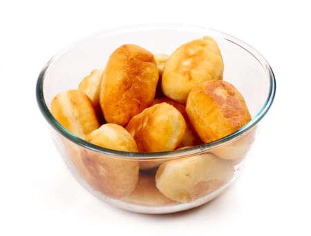 Homemade pasty isolated on white background Stock Photo - 11369844