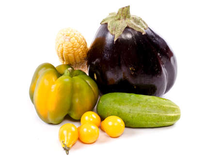 Fresh and ripe vegetables Stock Photo - 11369854