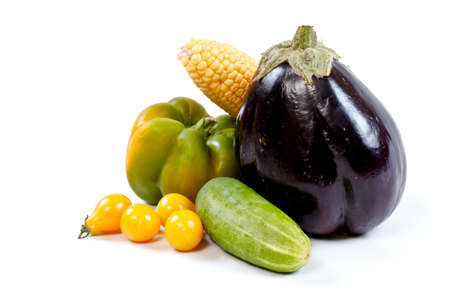Fresh and ripe vegetables Stock Photo - 11369890