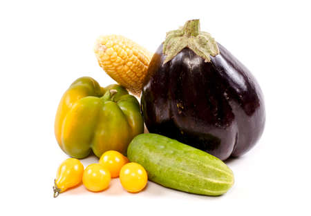 Fresh and ripe vegetables Stock Photo - 11369885