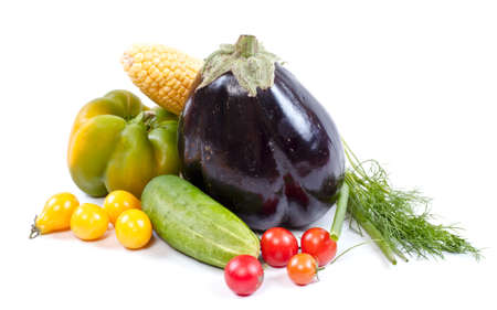 Fresh and ripe vegetables Stock Photo - 11369875