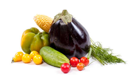Fresh and ripe vegetables Stock Photo - 11369839