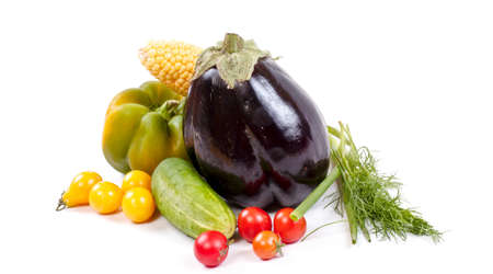 Fresh and ripe vegetables Stock Photo - 11369841