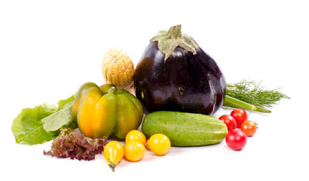 Fresh and ripe vegetables Stock Photo - 11369857
