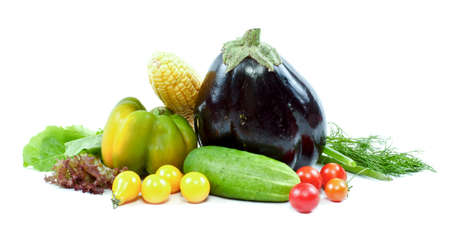 Fresh and ripe vegetables photo