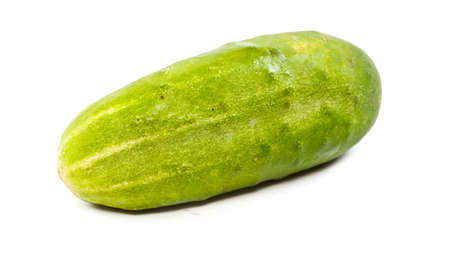Cucumber isolated on white background Stock Photo - 11369871